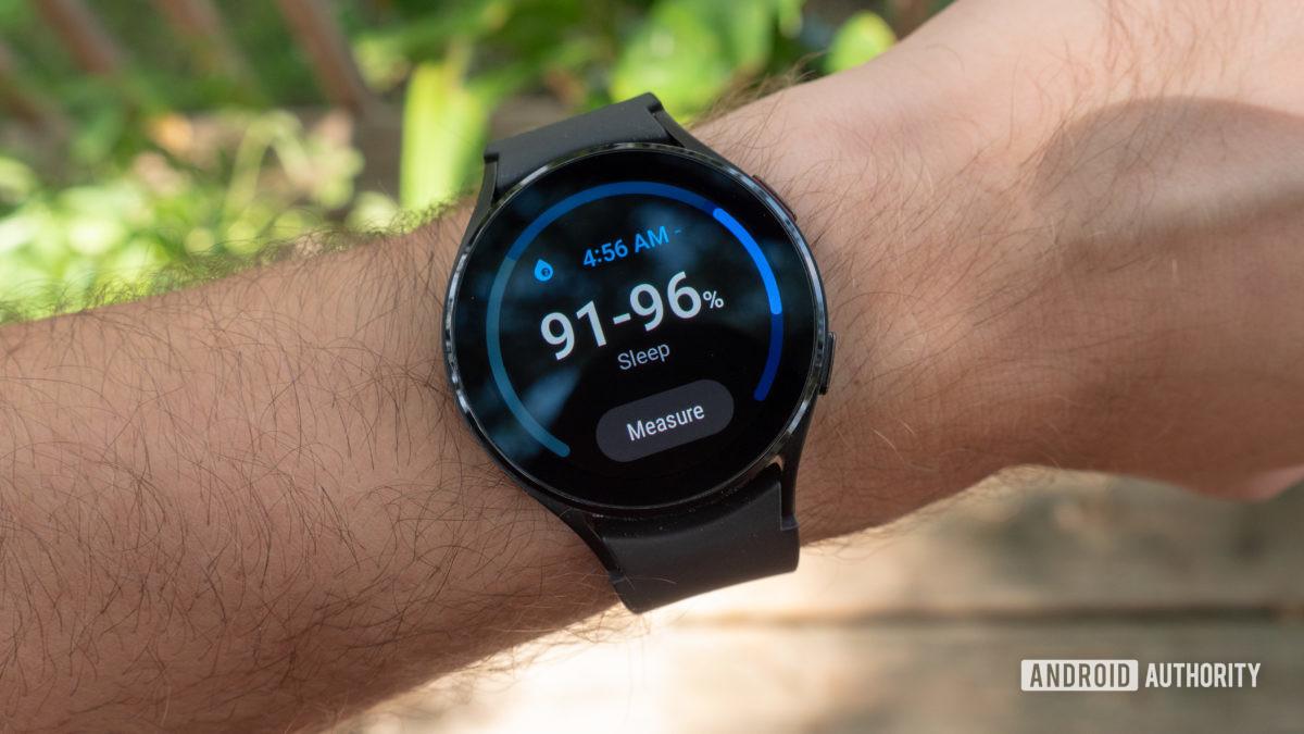 samsung galaxy watch 4 review sleep pulse oximeter spo2