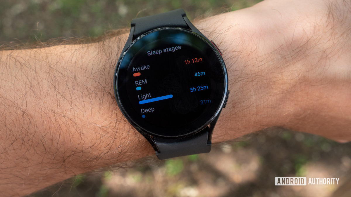 samsung galaxy watch 4 review sleep stages