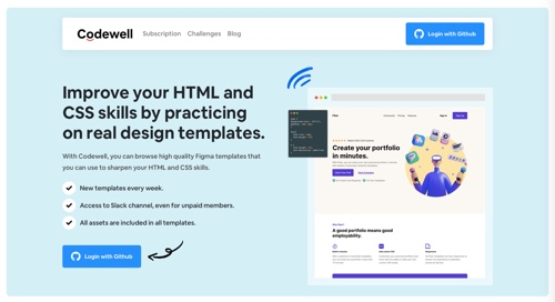 Home page of Codewell