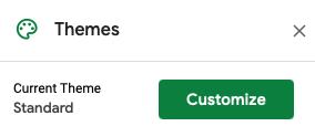 Click Customize