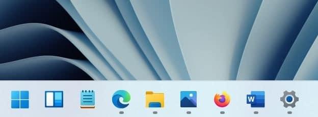 add Widgets icon to Windows 11 taskbar pic5