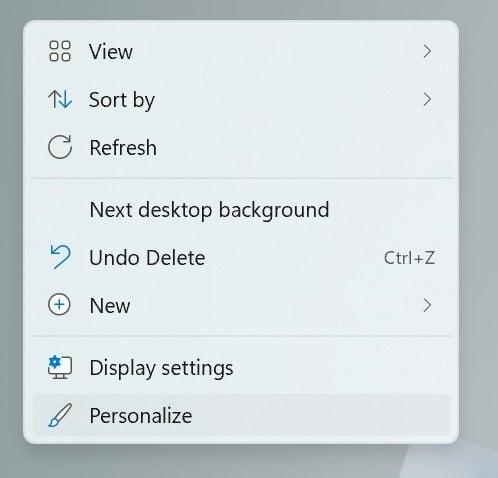 change Windows 11 theme pic1