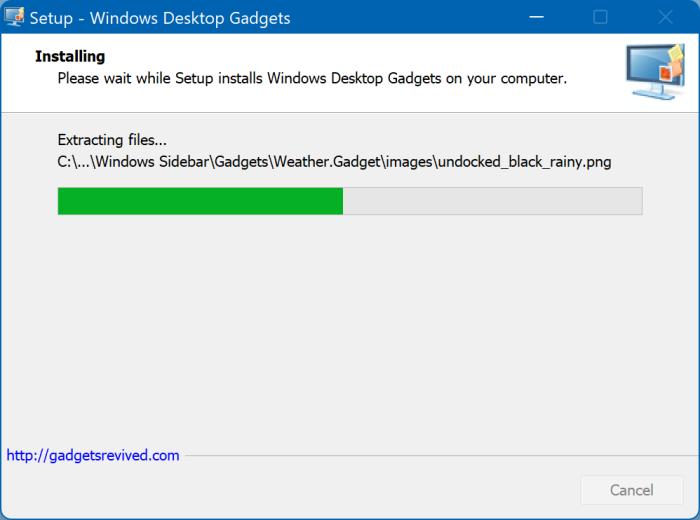 desktop gadgets in Windows 11 pic2
