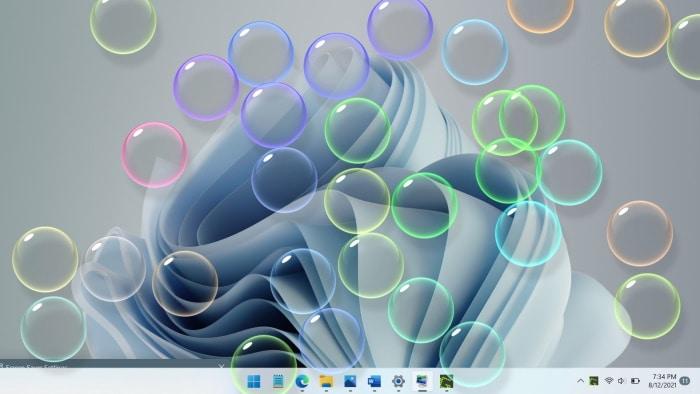 set screen saver in Windows 11 pic01